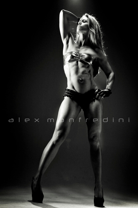 Fitness Glamour Model Photography